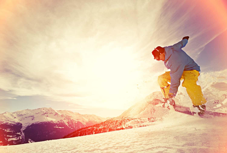 Was ist Snowboarden und wo kann ich es lernen?