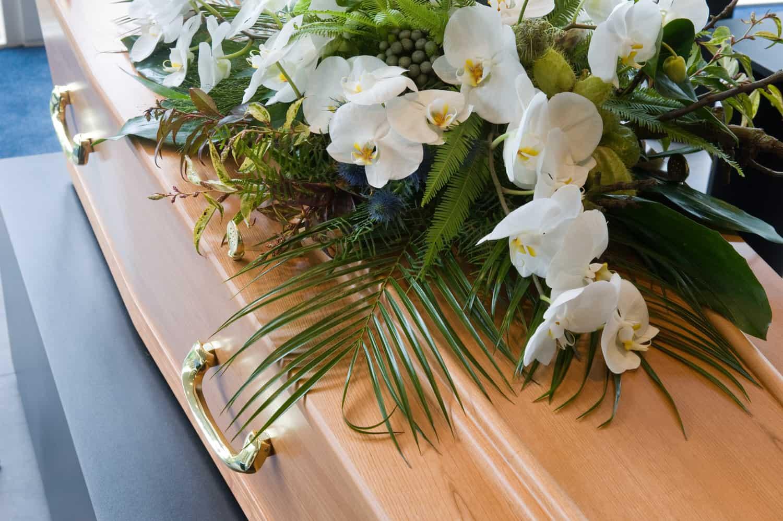 Danksagung nach Trauerfall