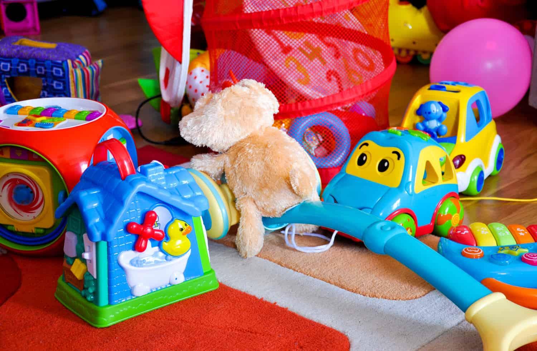 Kleinkindgerechtes Spielzeug