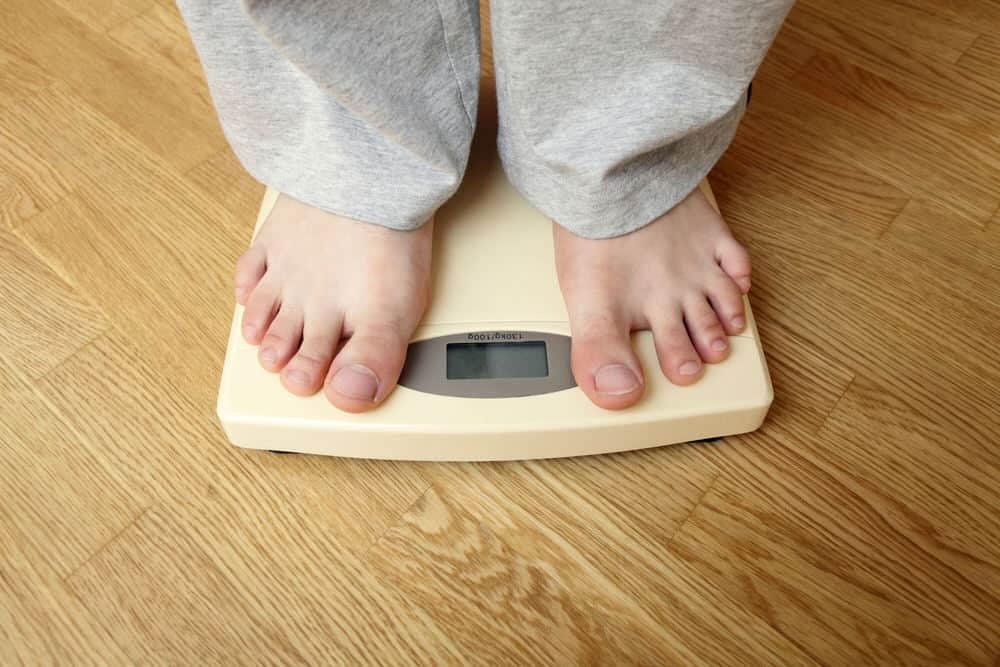 Gewicht reduzieren halten