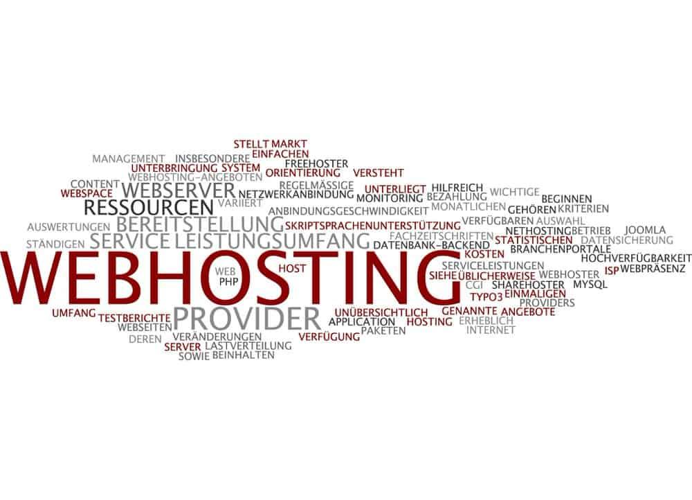 Maßgeschneiderte Webhosting-Pakete