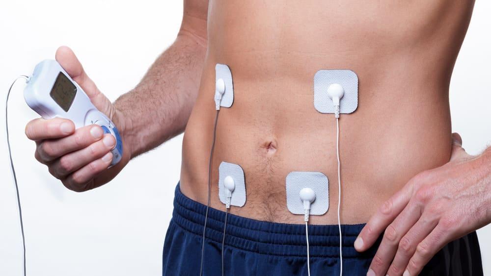 Muskelaufbau mit Elektro-Muskel-Stimulation