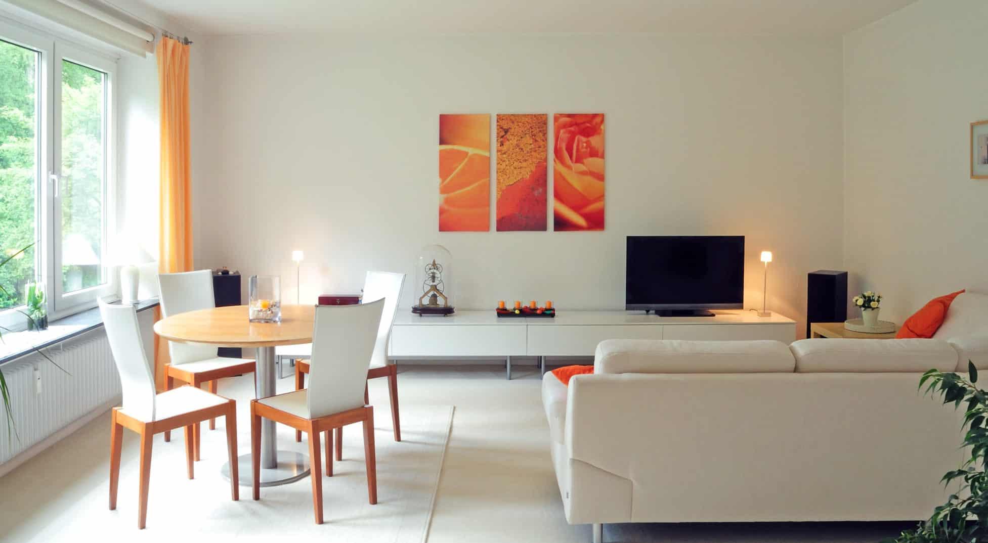Wohnzimmer-Gestaltung