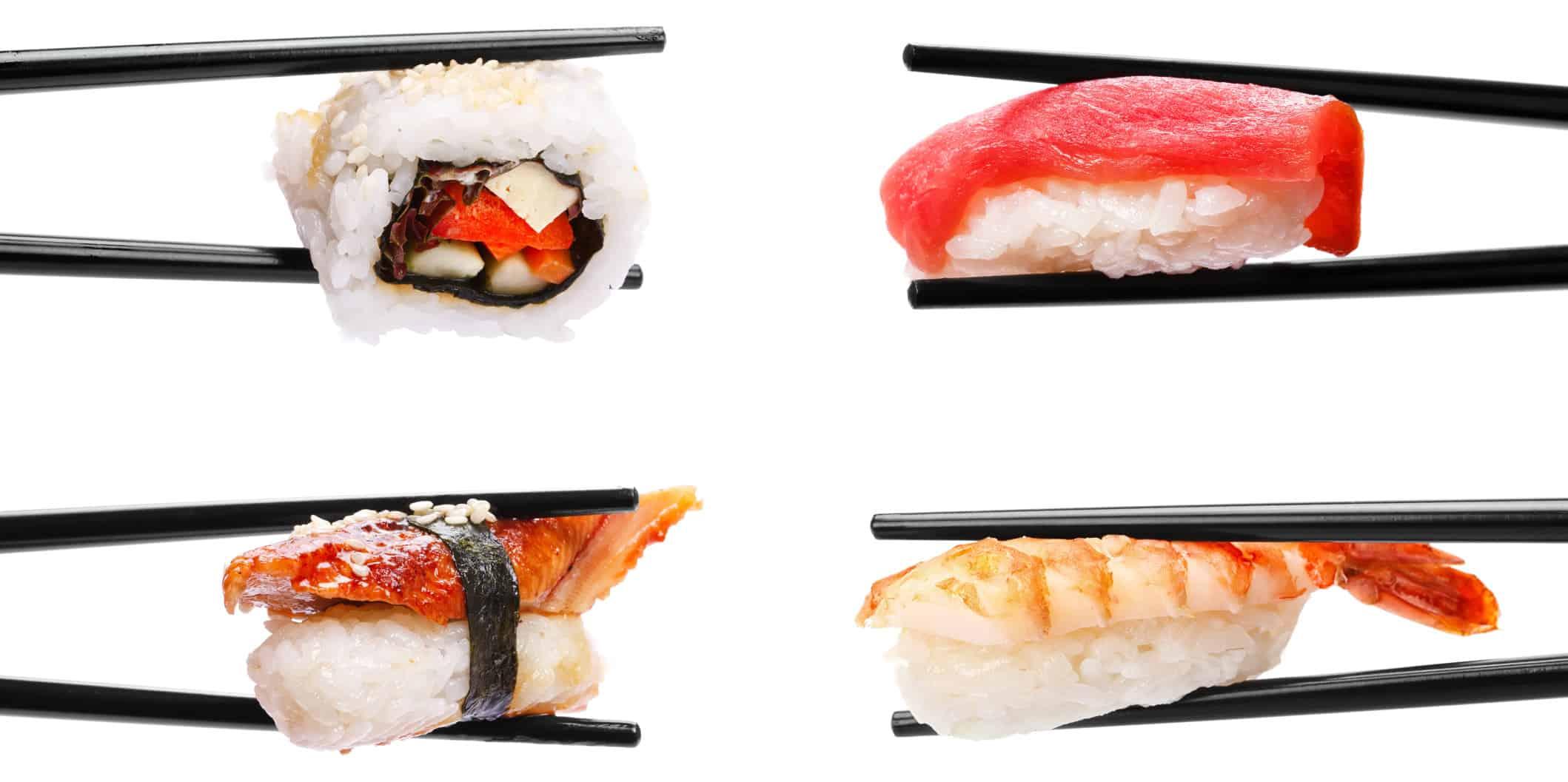 Sushi-Geschmack kombiniert mit weniger Kalorien