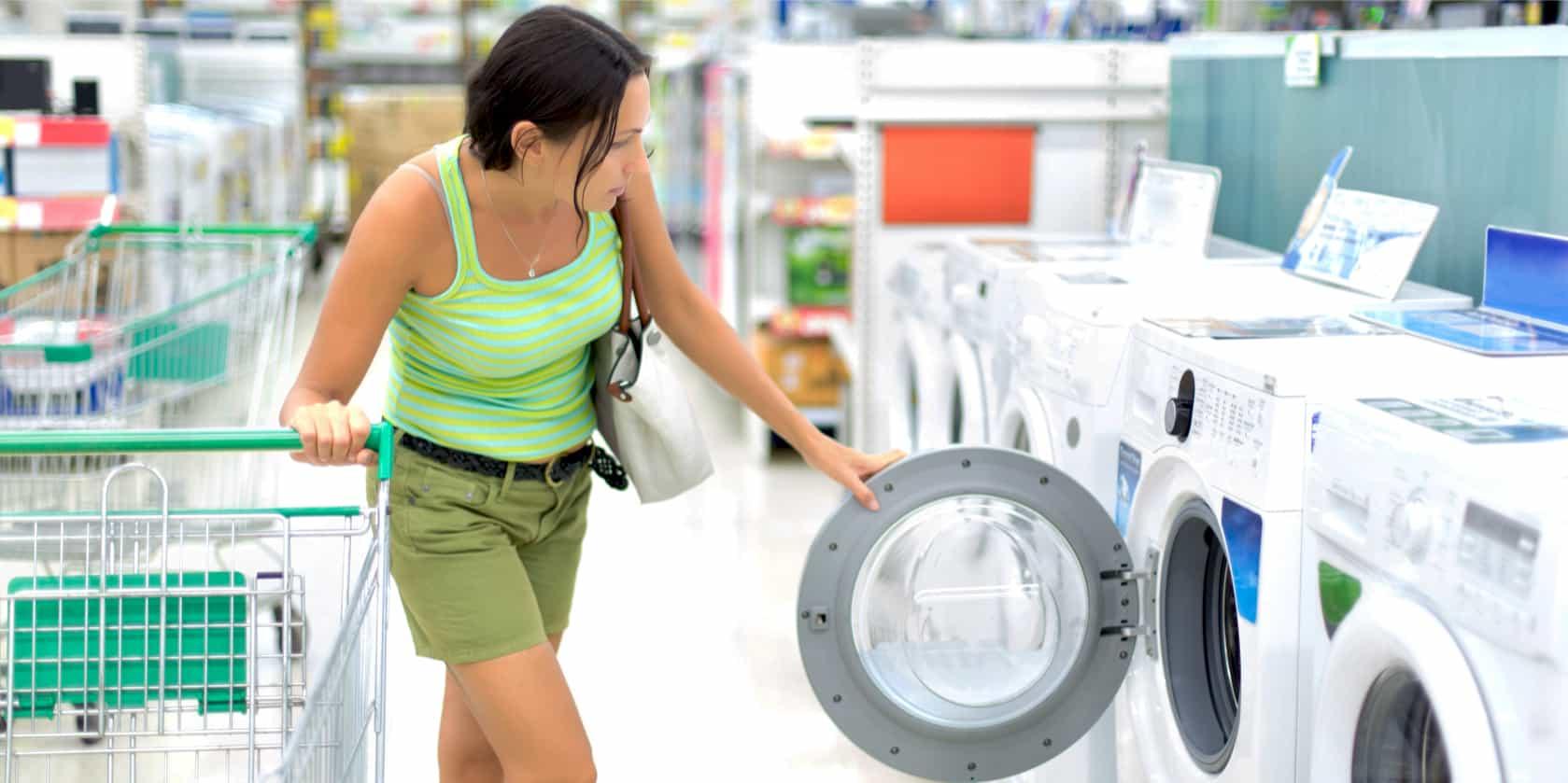die richtige Waschmaschine