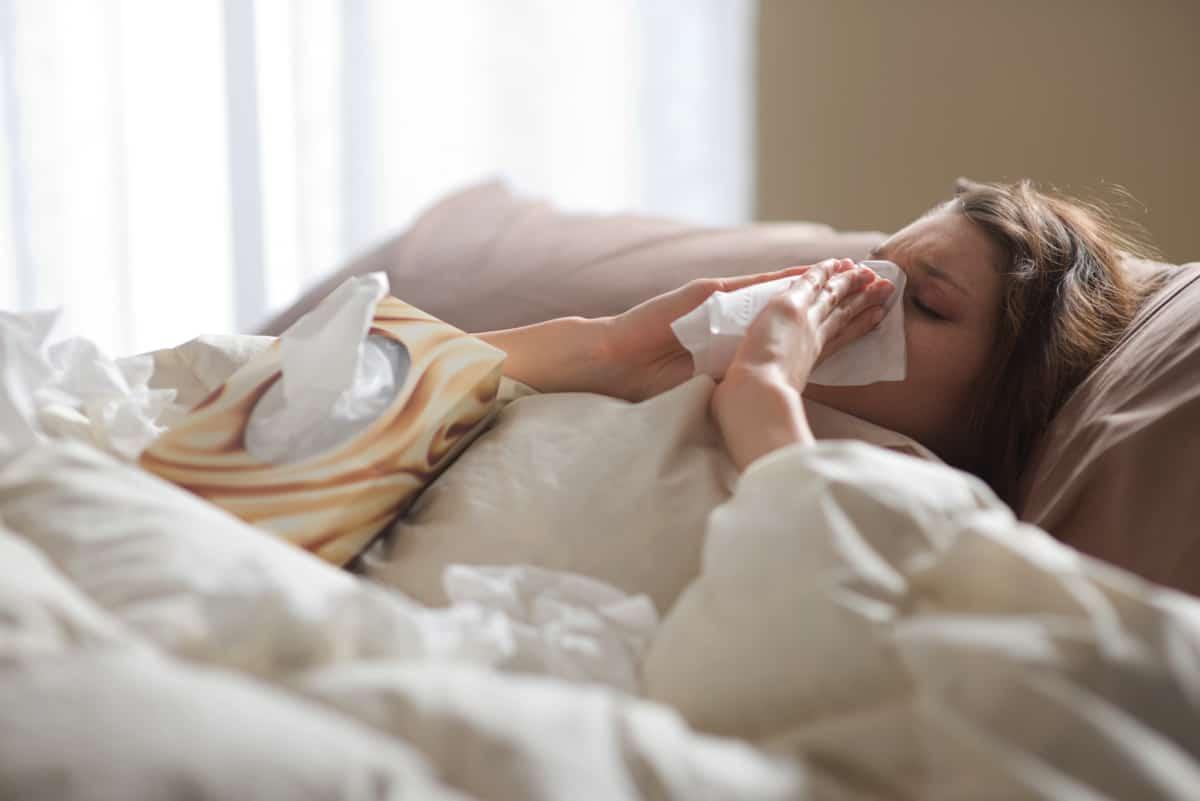 Warum ist morgens manchmal die Nase dicht?