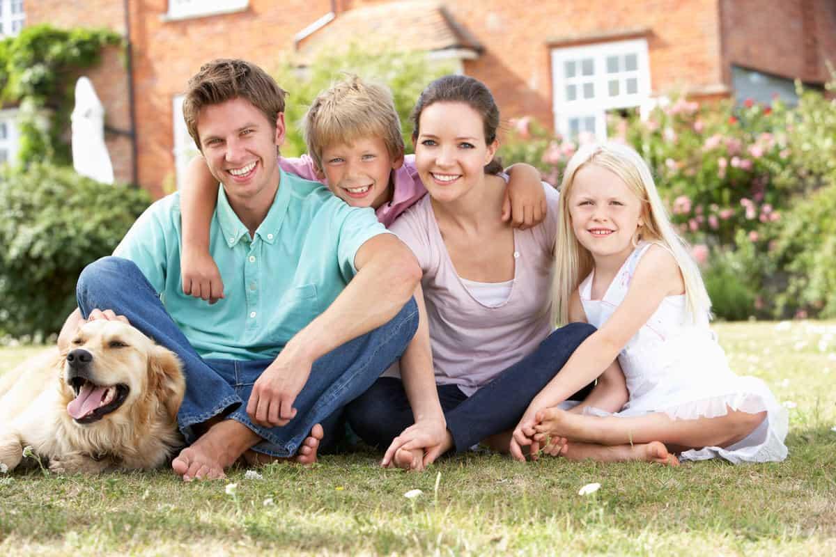 Ein Garten zum Wohlfühlen für die ganze Familie