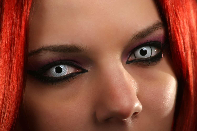 Halloween-Kontaktlinsen