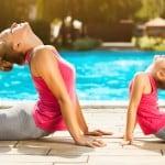 Yogareisen mit Kindern