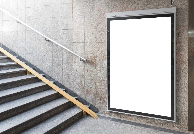 Besondere Werbeschilder für gezielte Werbung