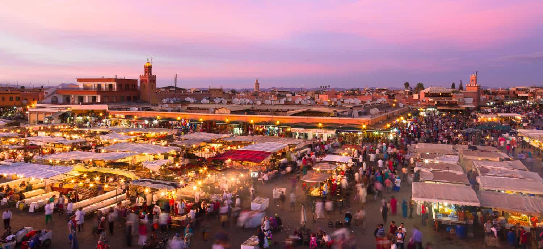 Den deutschen Winter in der Perle des Orients Marrakesch verbringen