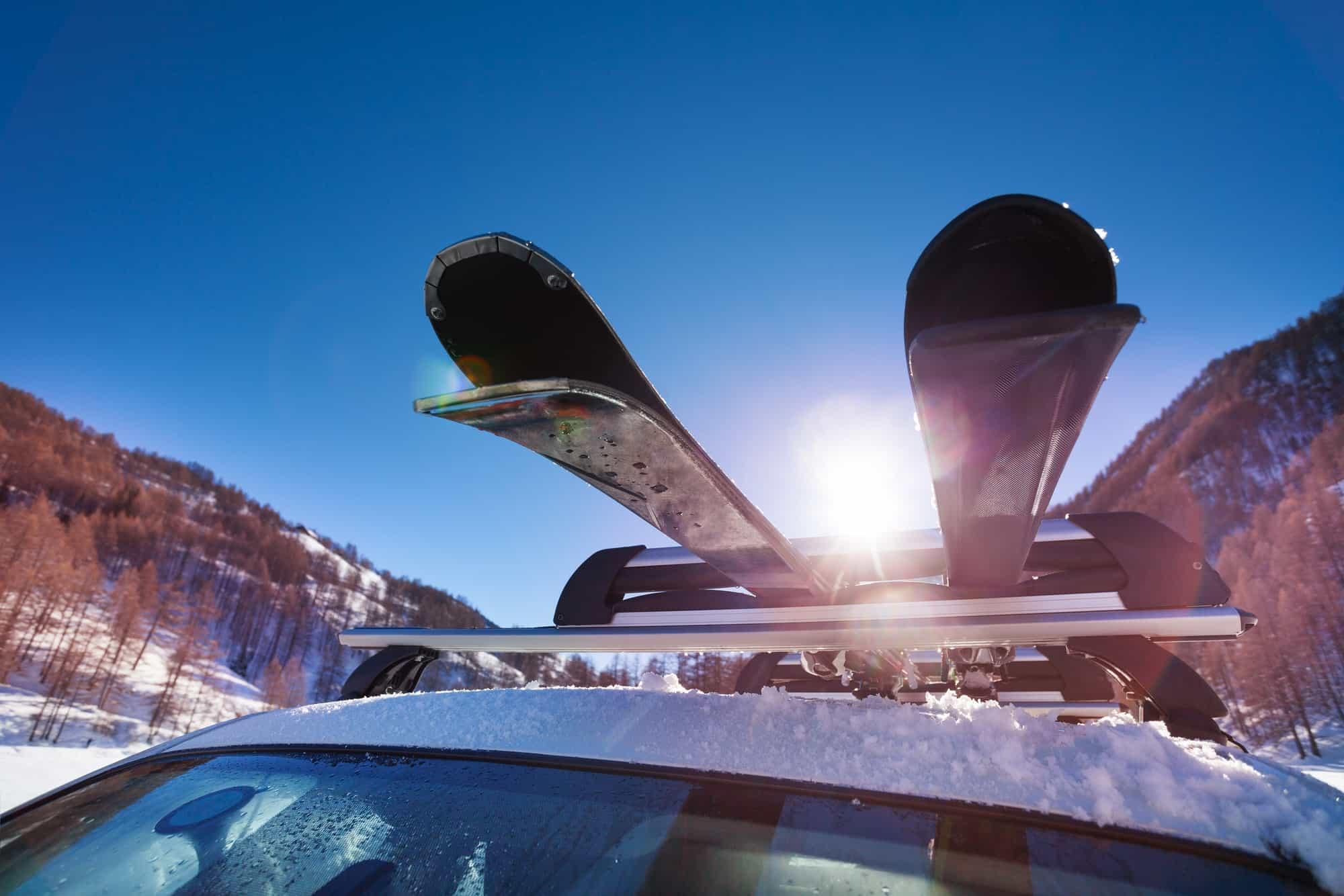Mit Auto Skiurlaub