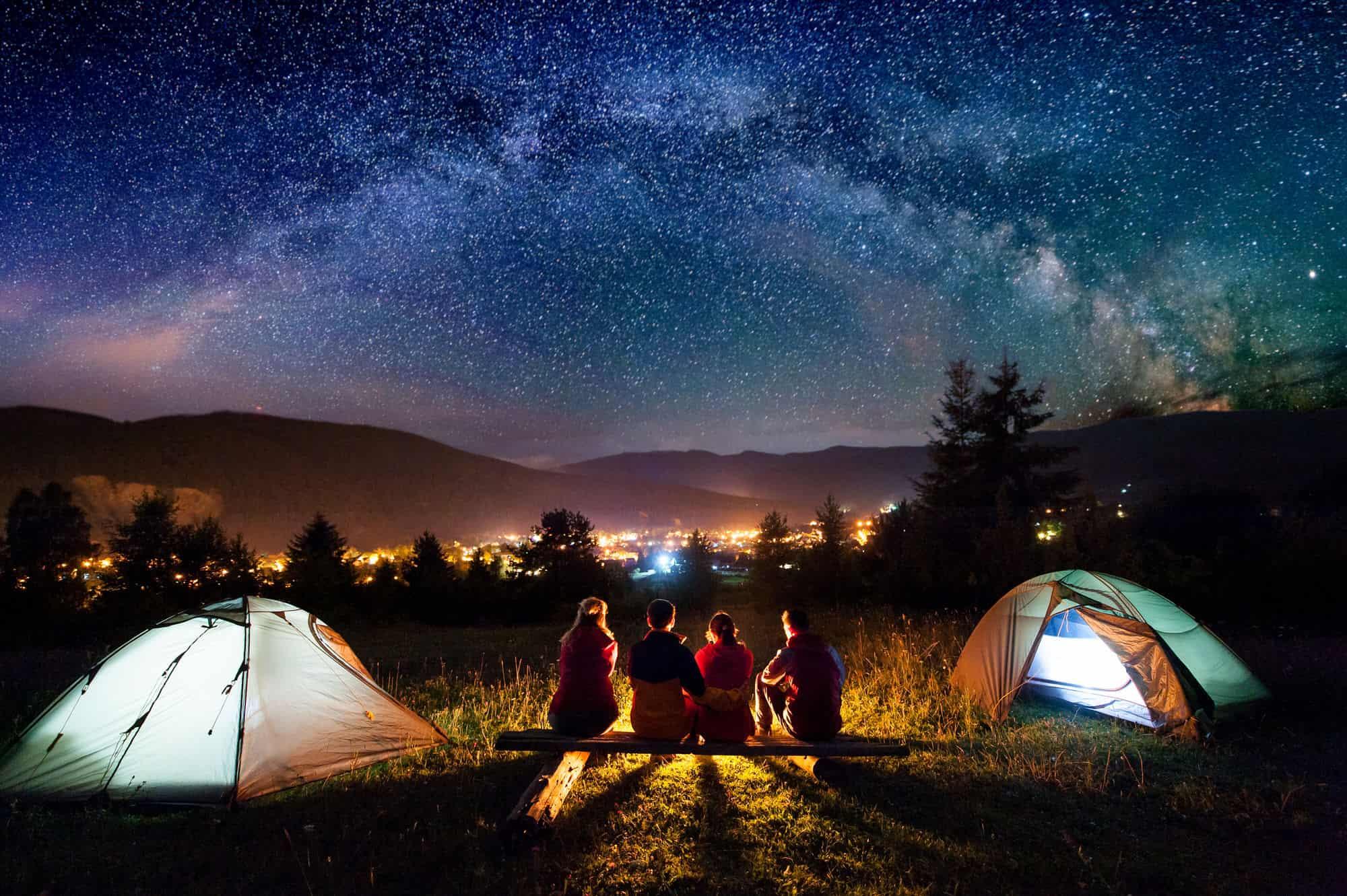 Camping in der Großstadt