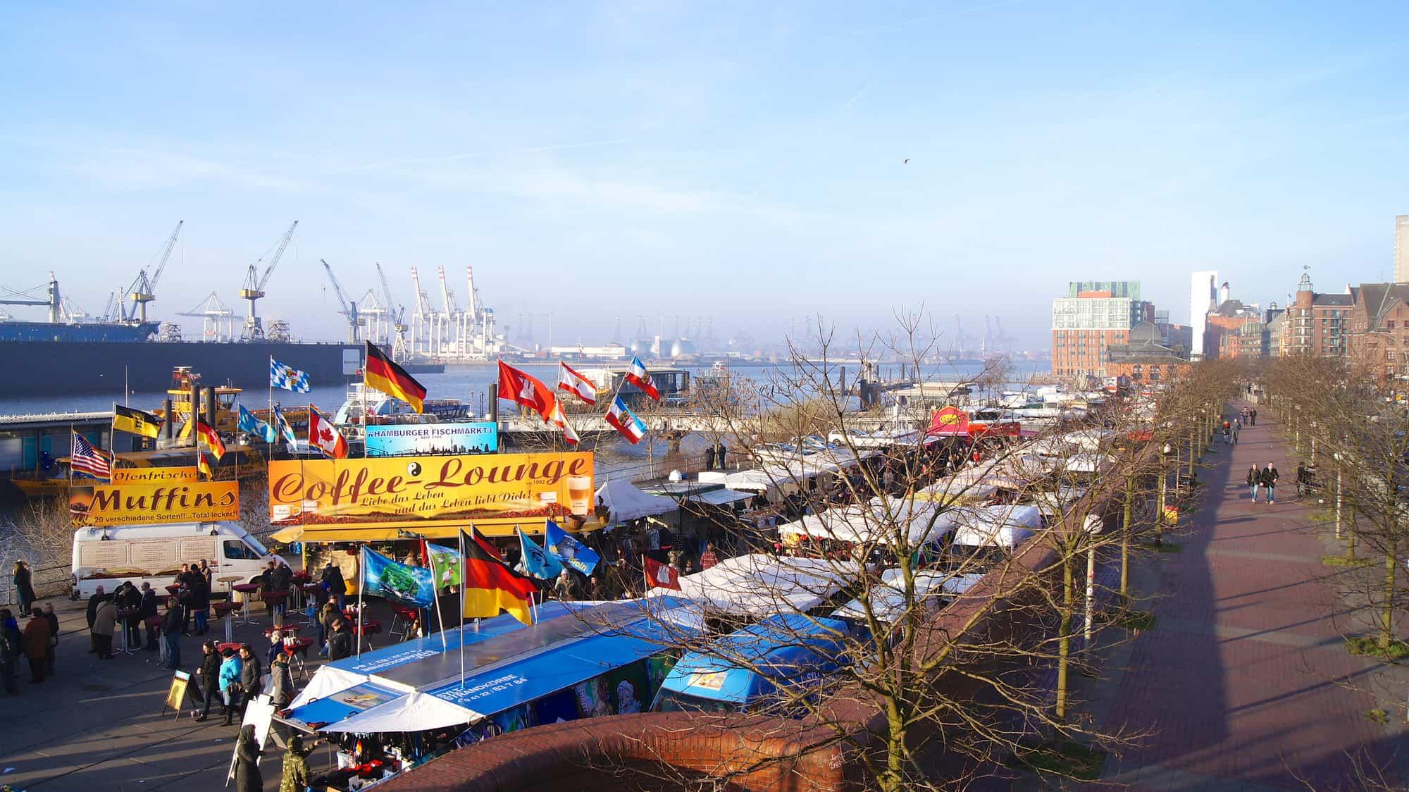 Der Hamburger Fischmarkt