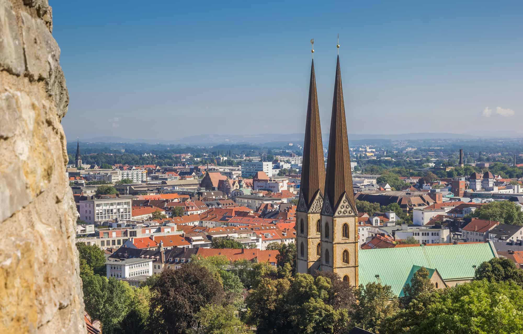 Sehenswürdigkeiten und Kostümverleih in Bielefeld