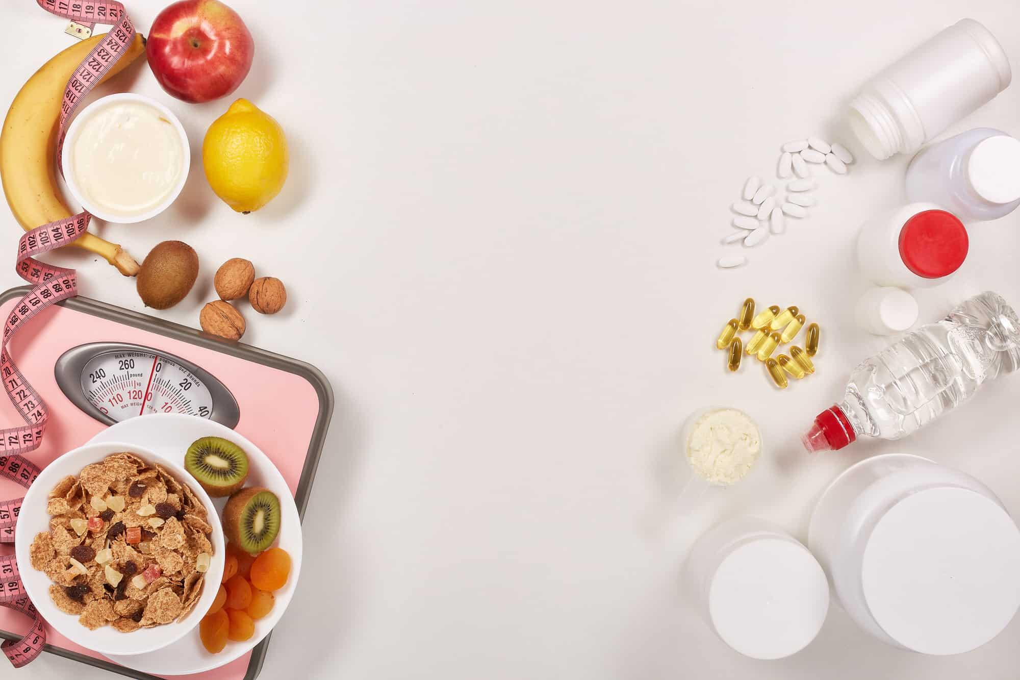 Zu viele Nahrungsergänzungsmittel