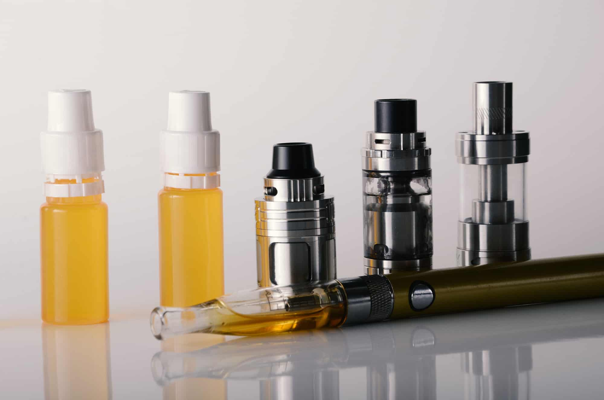 Rauchen mit E-Zigarette