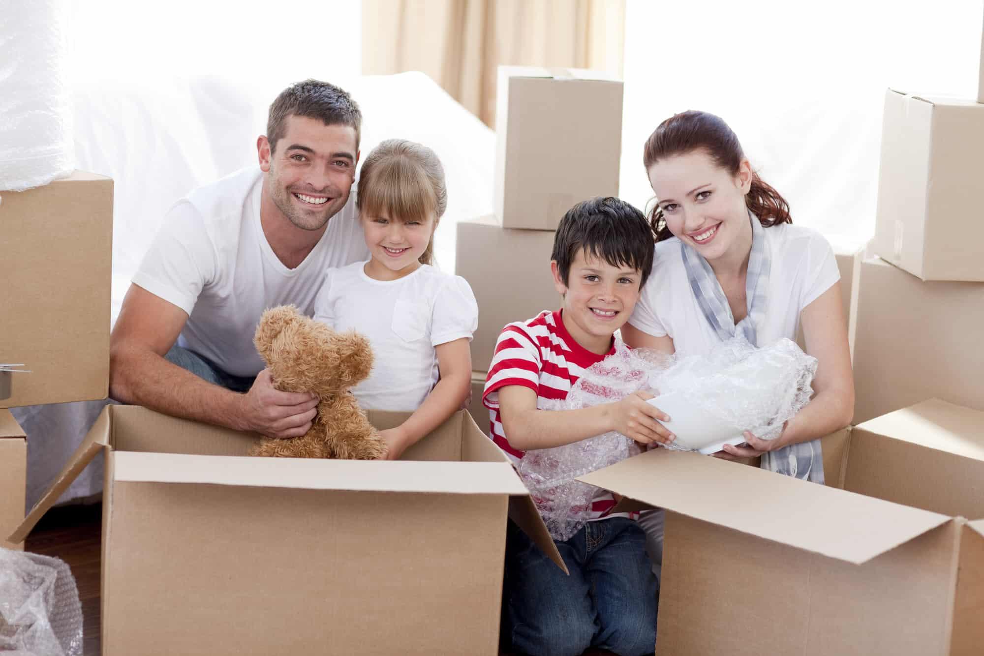 Umzugkartons und Verpackungsmaterial