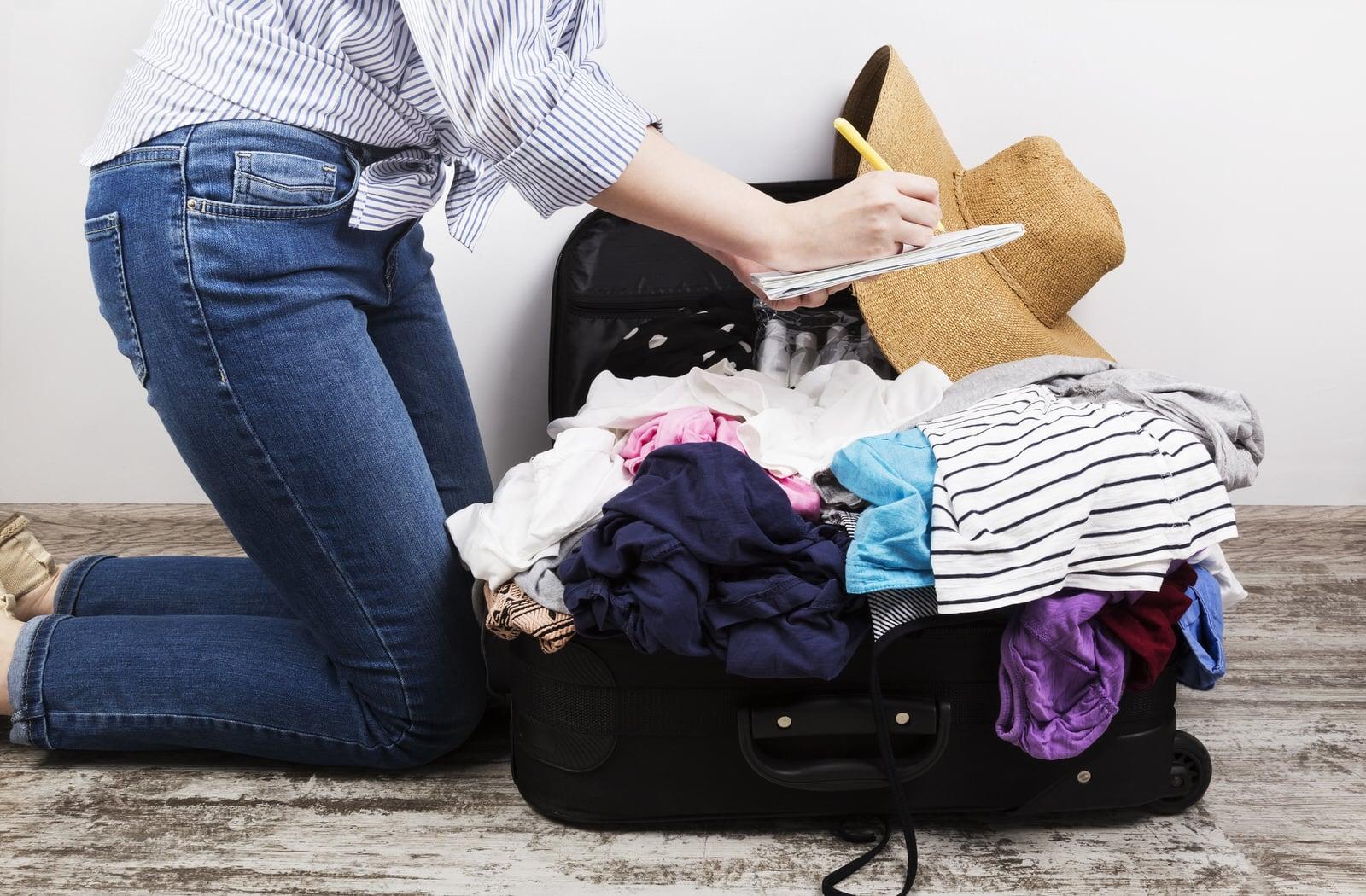 Koffer effektiv packen